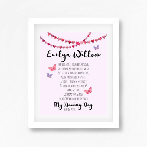 Baby Naming Gift Ideas  Best 20 Naming Ceremony ideas on Pinterest