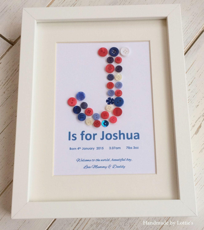 Baby Naming Gift Ideas  Newborn baby t Newbaby present personalised