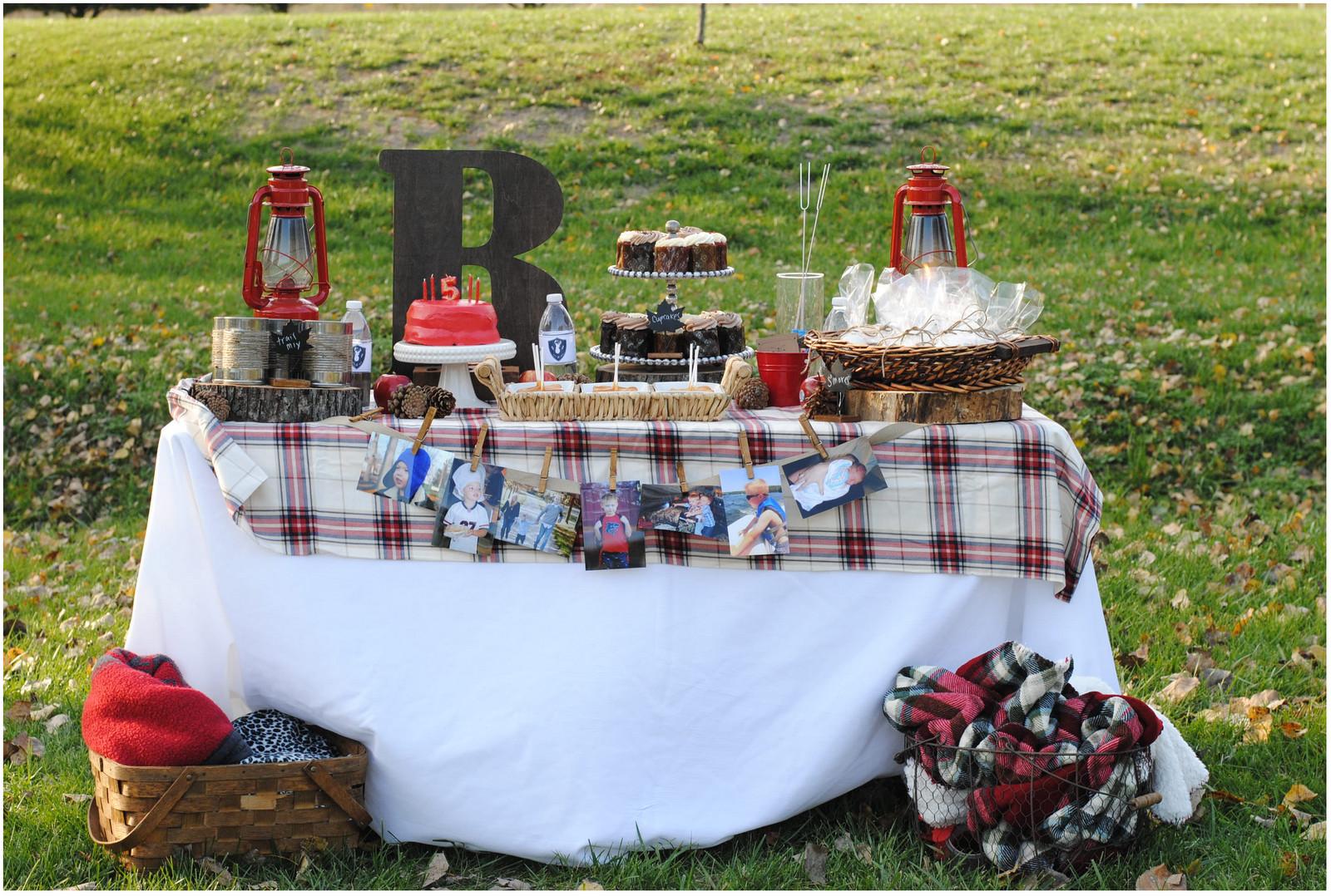 Backyard Bonfire Party Ideas  The Bridal Solution TBS Parties Outdoor Bonfire Birthday