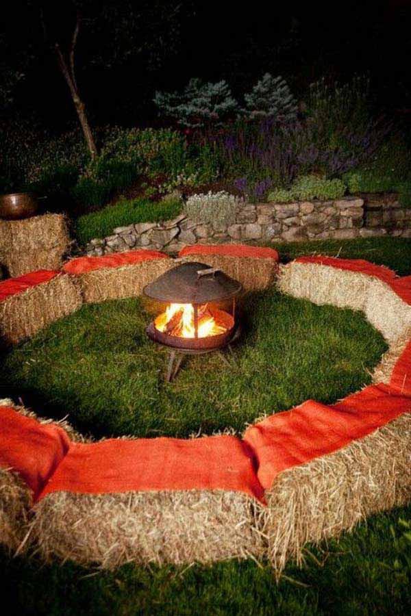 Backyard Bonfire Party Ideas  26 Awesome Outside Seating Ideas You Can Make with