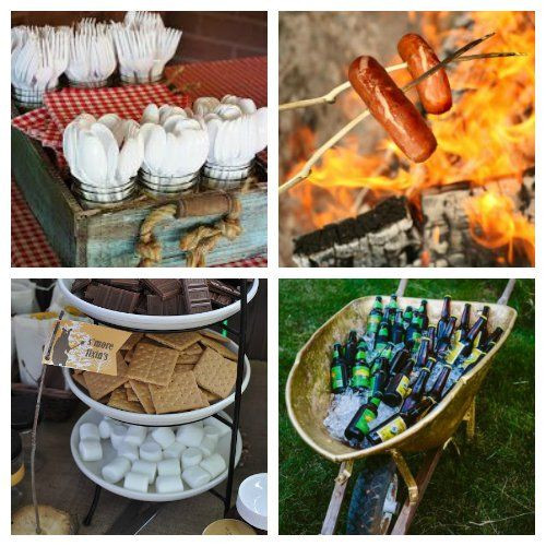 Backyard Bonfire Party Ideas  Host a bonfire party this summer with these helpful party