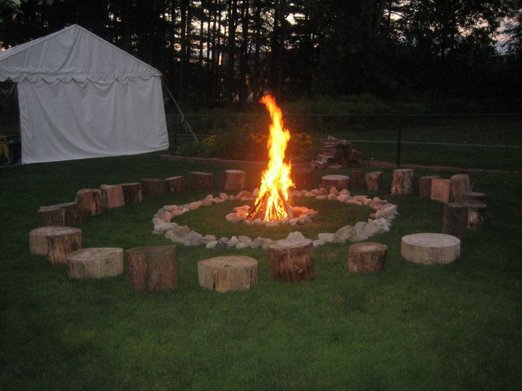 Backyard Bonfire Party Ideas  perfect end to an outdoor birthday party