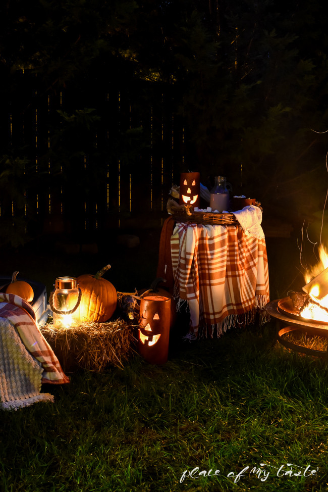 Backyard Bonfire Party Ideas  BACKYARD BONFIRE PARTY