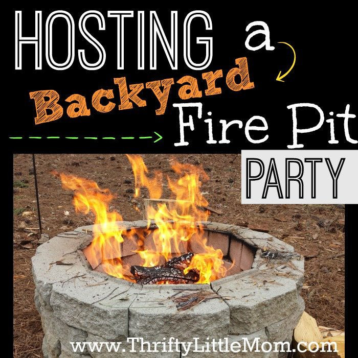 Backyard Bonfire Party Ideas  Best 25 Fire pit party ideas on Pinterest