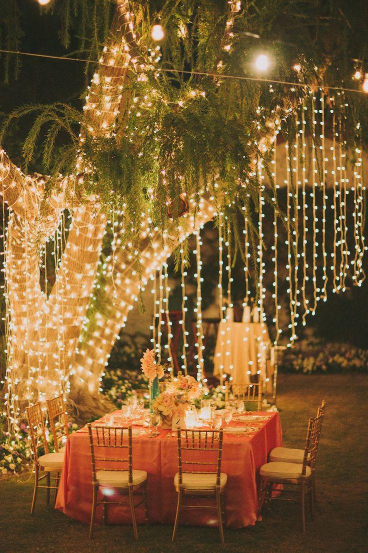 Backyard Party Ideas Lighting  160 best Event Lighting images on Pinterest