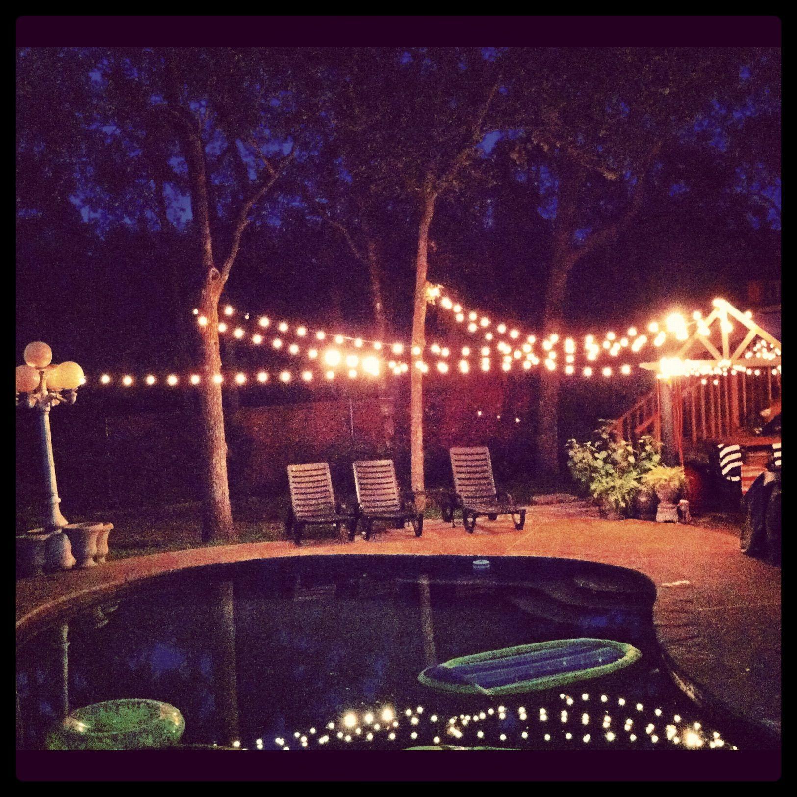 Backyard Party Ideas Lighting  Best 25 Backyard party lighting ideas on Pinterest