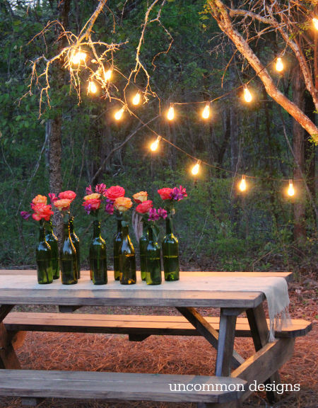 Backyard Party Ideas Lighting  Easy Outdoor Party Lighting Ideas