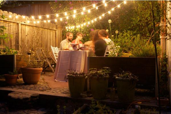 Backyard Party Ideas Lighting  Summer Garden Party