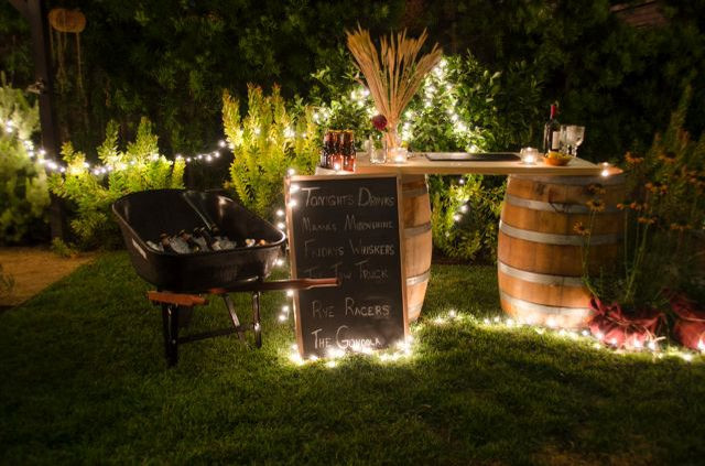 Backyard Party Ideas Lighting  Inexpensive Outdoor Party Lighting Ideas