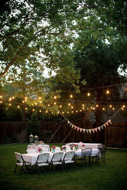Backyard Party Lighting Ideas  17 Best ideas about Backyard Party Lighting on Pinterest