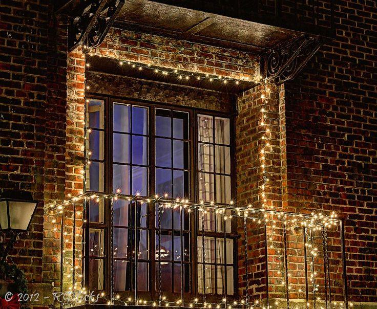 Balcony Christmas Lights  21 best Balcony Winter Lighting images on Pinterest