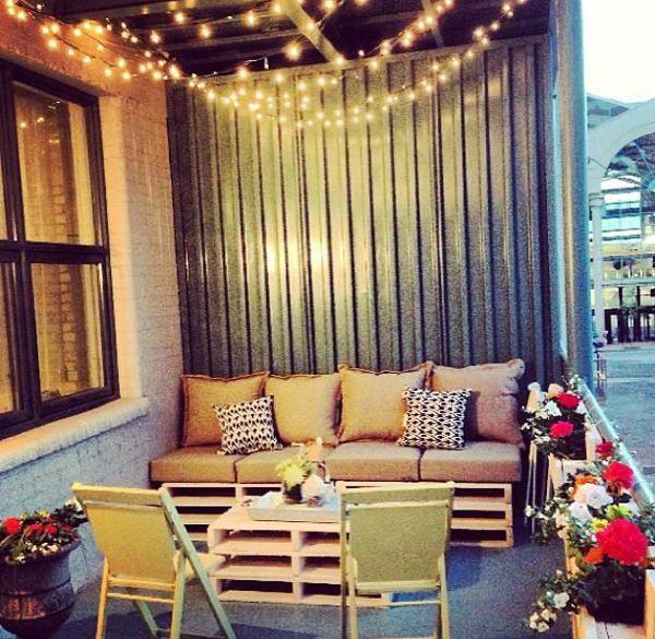 Balcony Christmas Lights  25 best ideas about Balcony Lighting on Pinterest