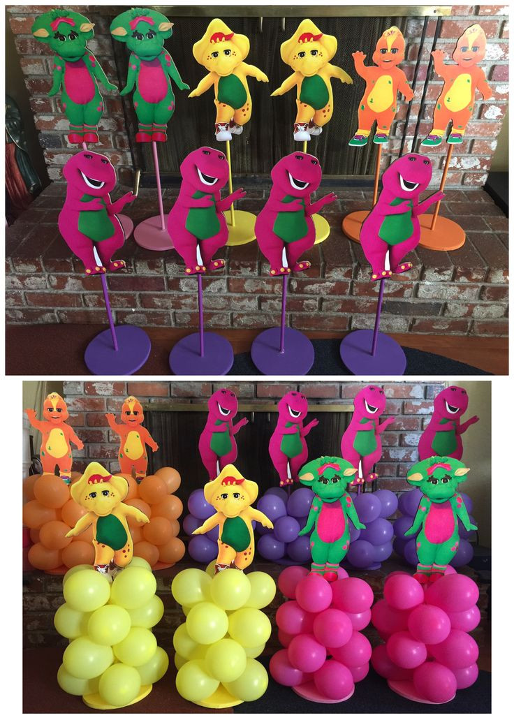 Barney Birthday Decorations  Best 25 Barney party ideas on Pinterest