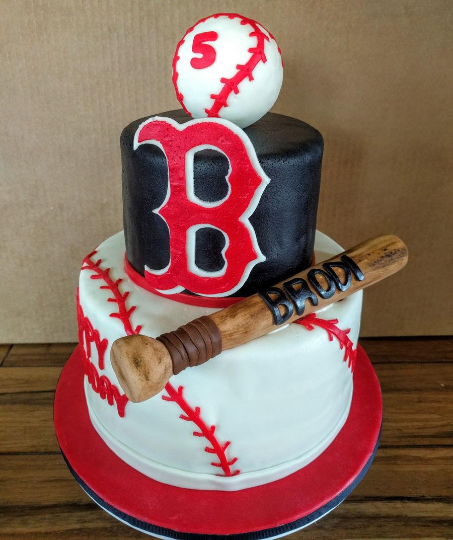 Baseball Birthday Cake  Baseball Cake CakeCentral