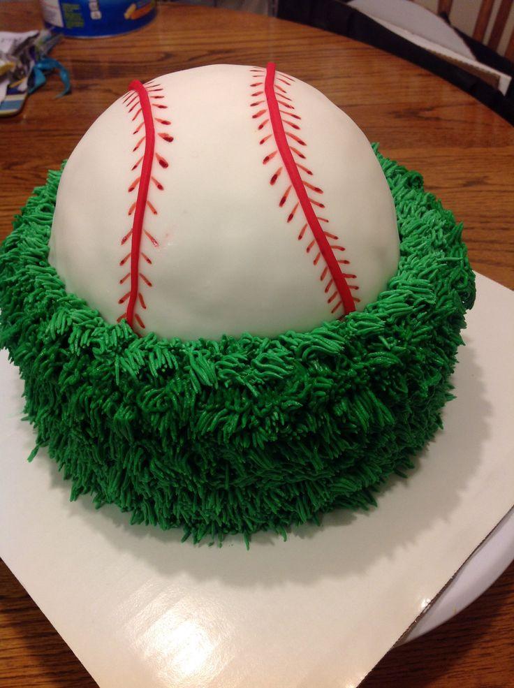 Baseball Birthday Cake  Best 25 Baseball birthday cakes ideas on Pinterest