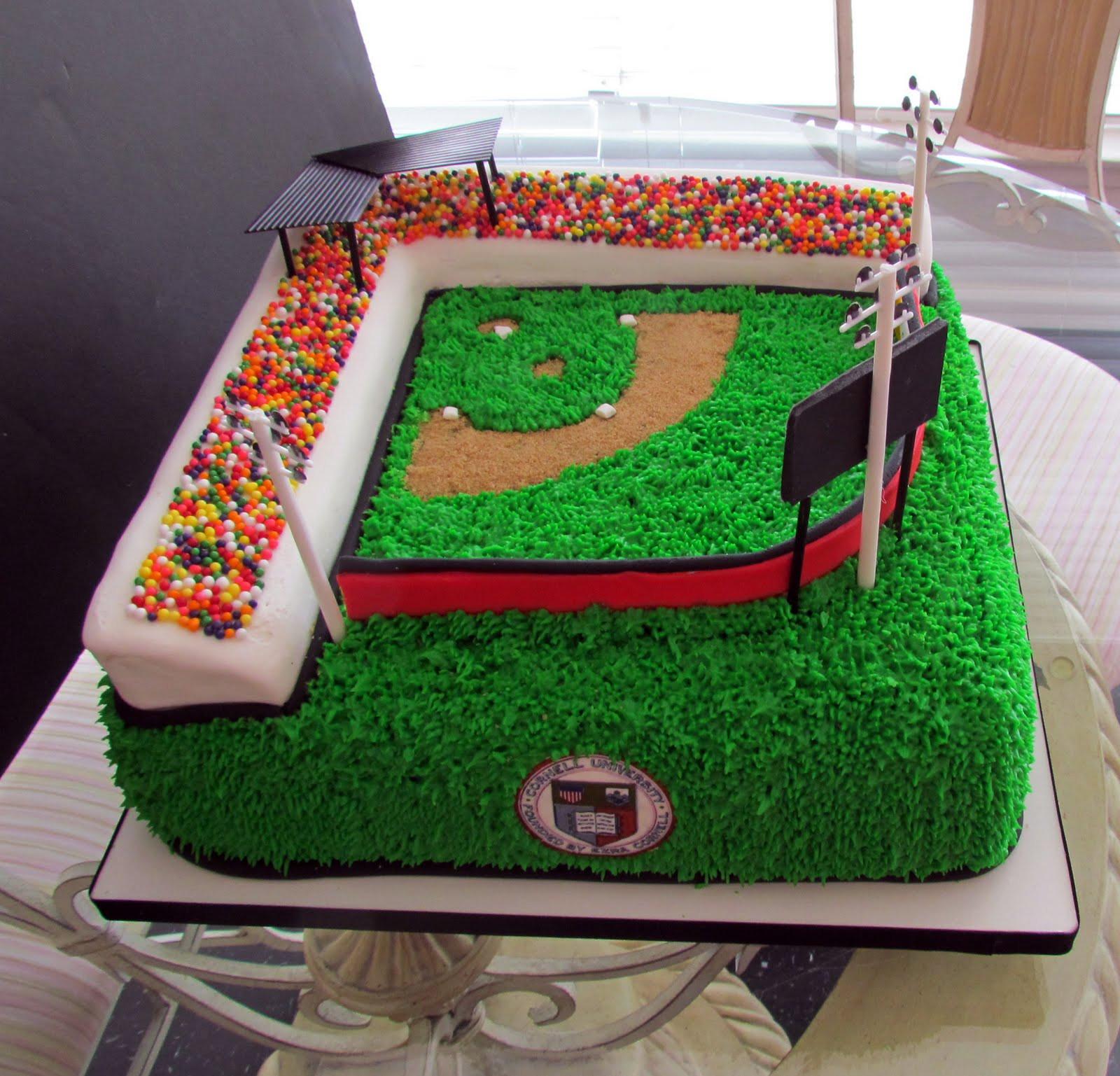 Baseball Birthday Cake  Baseball Desserts Galore B Lovely Events