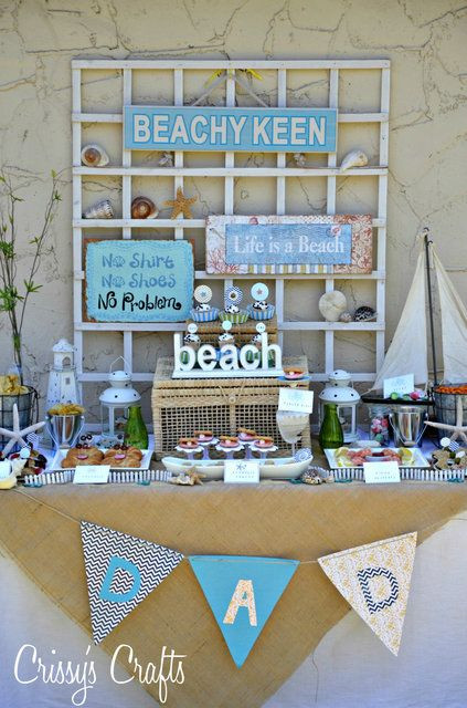 Beach Themed Retirement Party Ideas  98 best images about retirement party on Pinterest