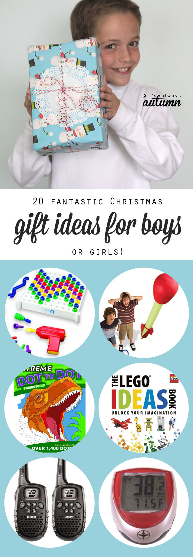 Best Christmas Gift Ideas  20 best Christmas t ideas for boys It s Always Autumn