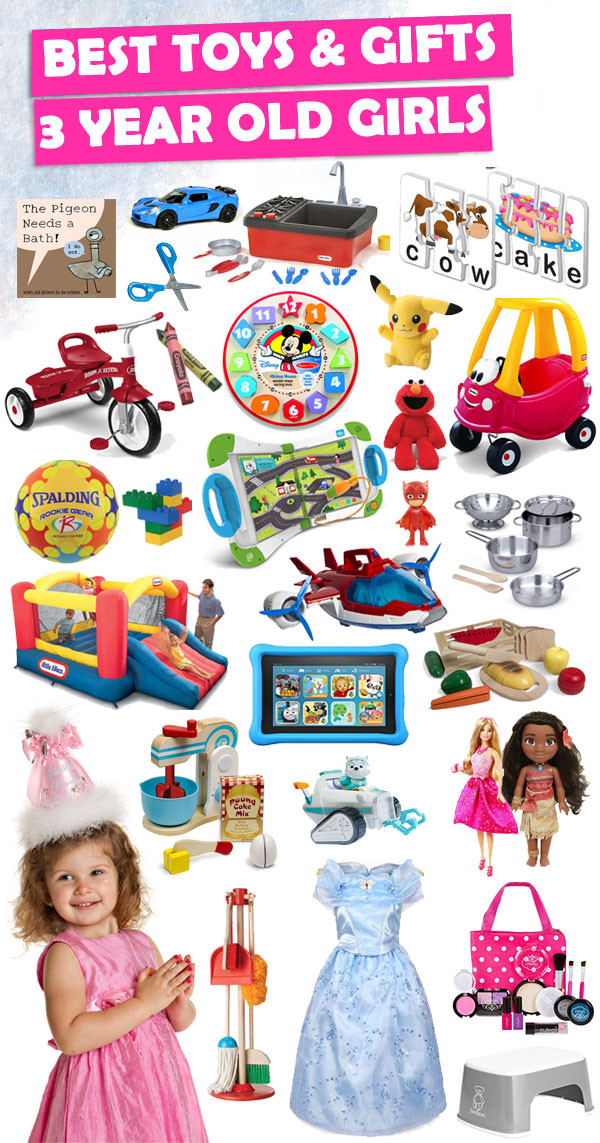 Birthday Gifts For 3 Yr Old Girl  Best Gifts And Toys For 3 Year Old Girls 2018