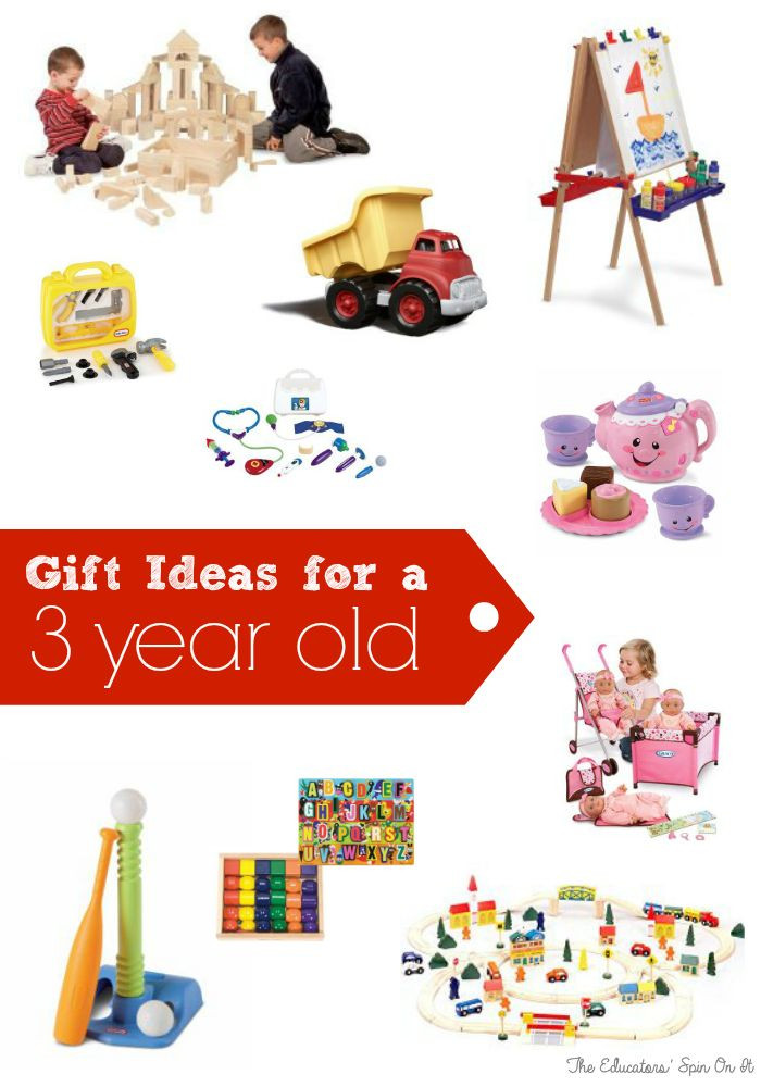 Birthday Gifts For 3 Yr Old Girl  Birthday Gift Ideas for Three Years Old