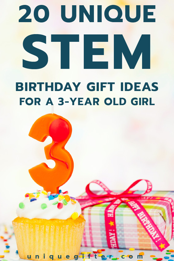 Birthday Gifts For 3 Yr Old Girl  20 STEM Birthday Gift Ideas for a 3 Year Old Girl Unique