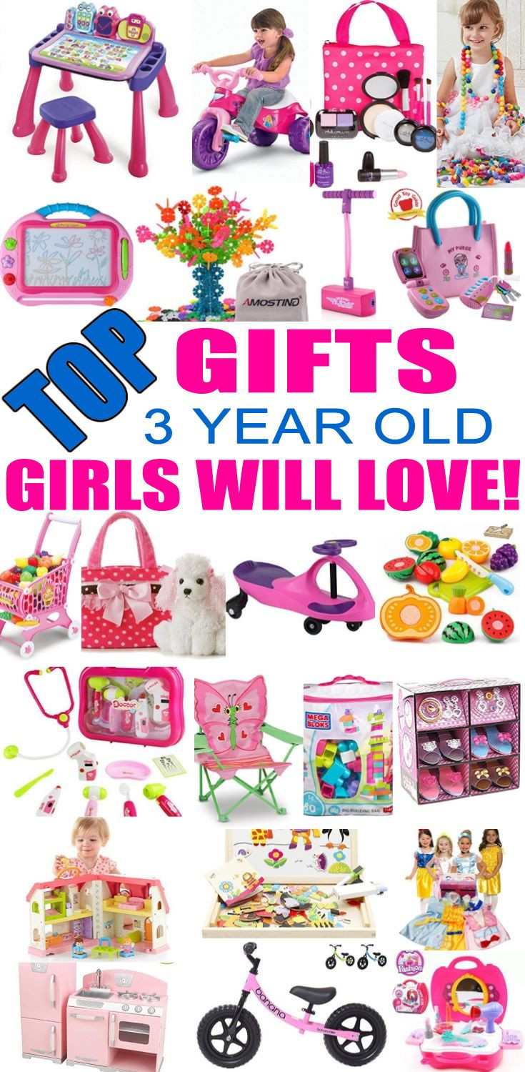 Birthday Gifts For 3 Yr Old Girl  Best Gifts for 3 Year Old Girls