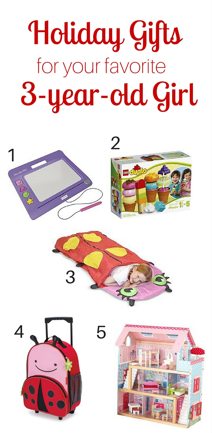 Birthday Gifts For 3 Yr Old Girl  Holiday Gift Guide for the 3 year old Girl in Your Life