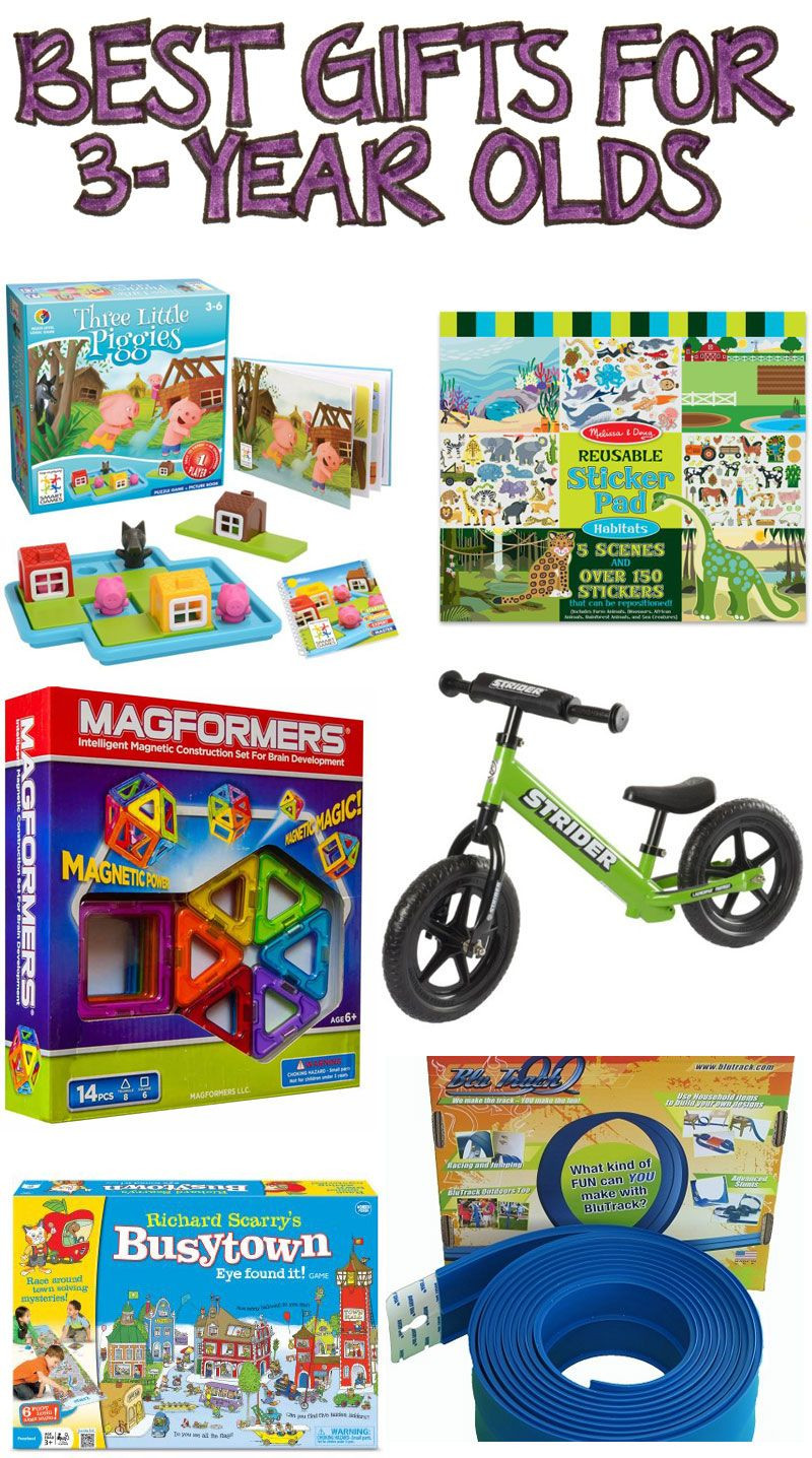 Birthday Gifts For 3 Yr Old Girl  Best Gifts for 3 Year Olds