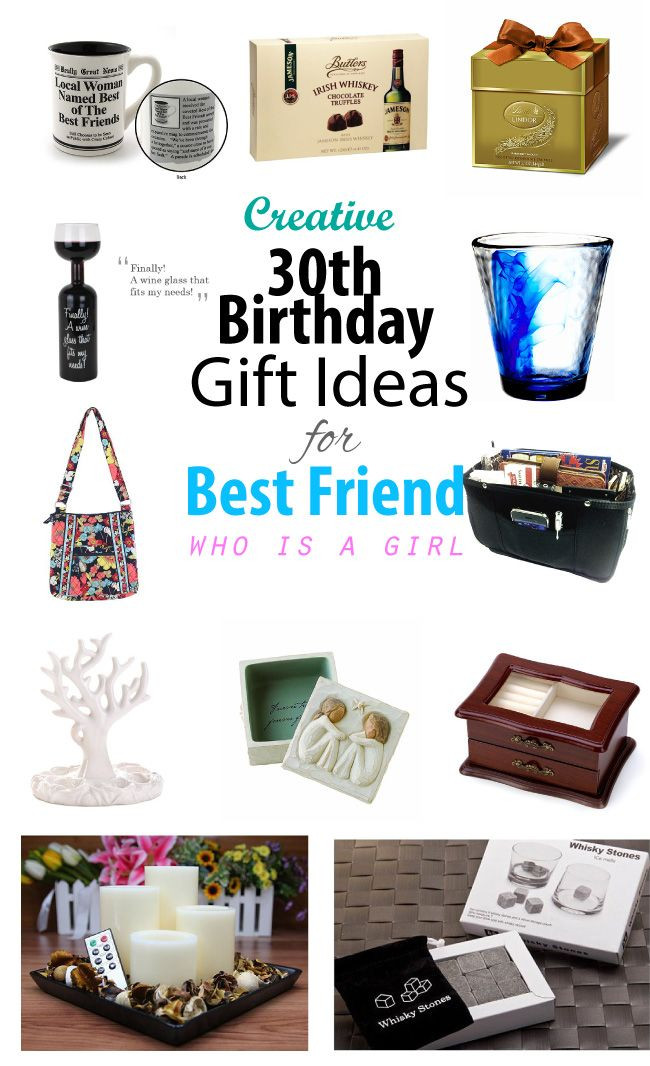 Birthday Gifts For Girl Best Friend  Creative 30th Birthday Gift Ideas for Female Best Friend