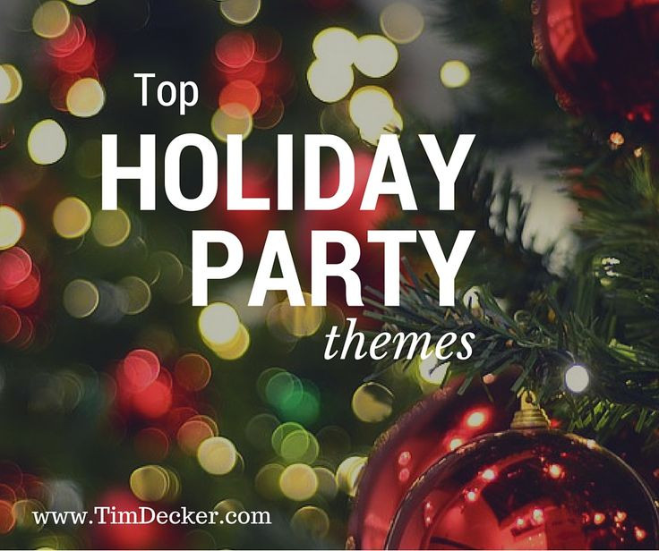 Business Christmas Party Ideas  The 25 best Christmas party themes ideas on Pinterest