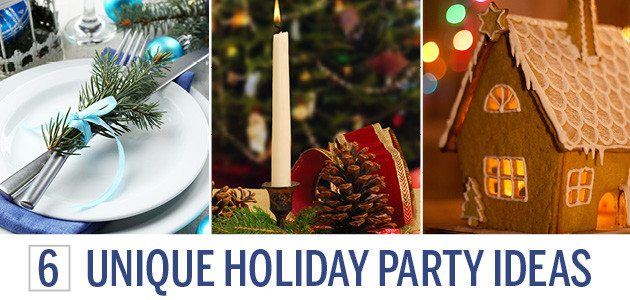 Business Christmas Party Ideas  6 Unique Corporate Holiday Party Ideas