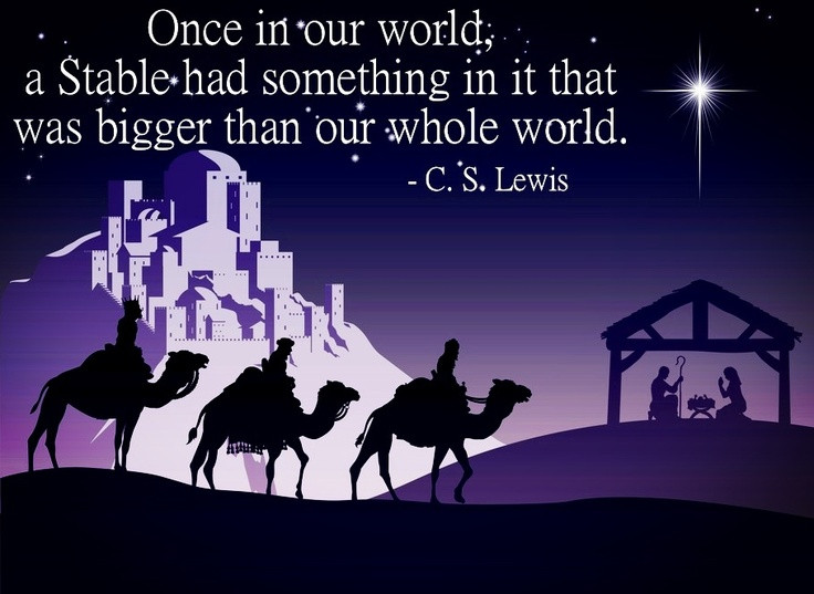 C.S Lewis Christmas Quotes  132 best Uplifting Quotes images on Pinterest