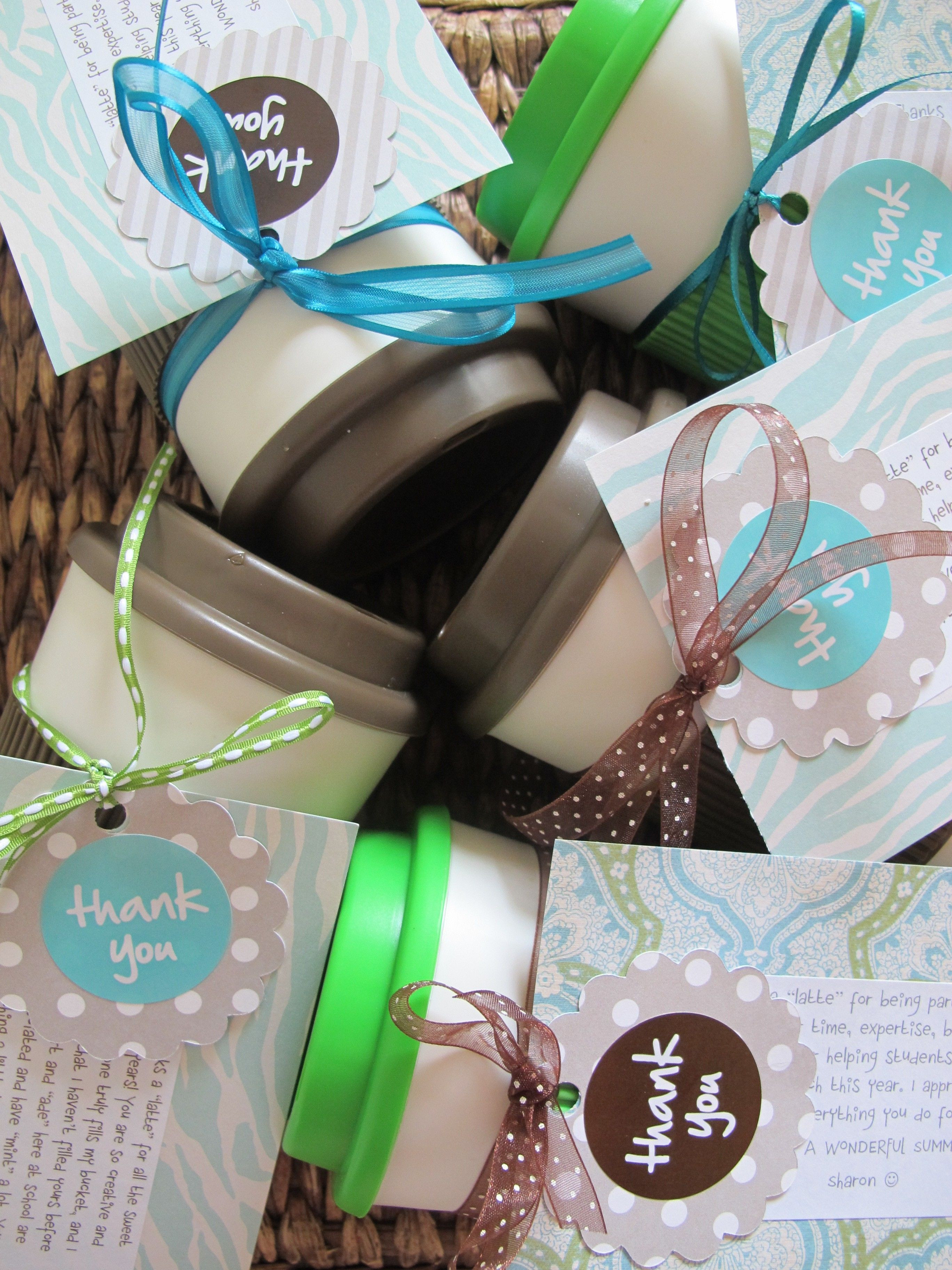 Cheap Thank You Gift Ideas  cute inexpensive easy thank you t idea
