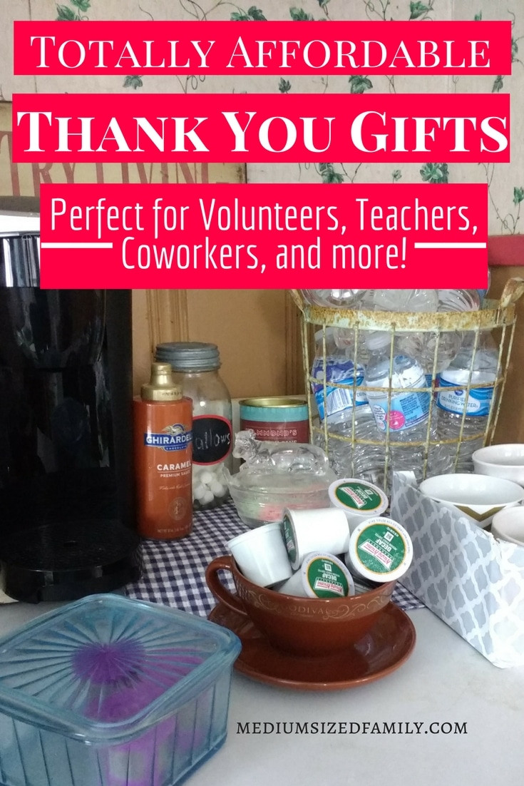 Cheap Thank You Gift Ideas  20 Inexpensive Thank You Gift Ideas Because You Treasure