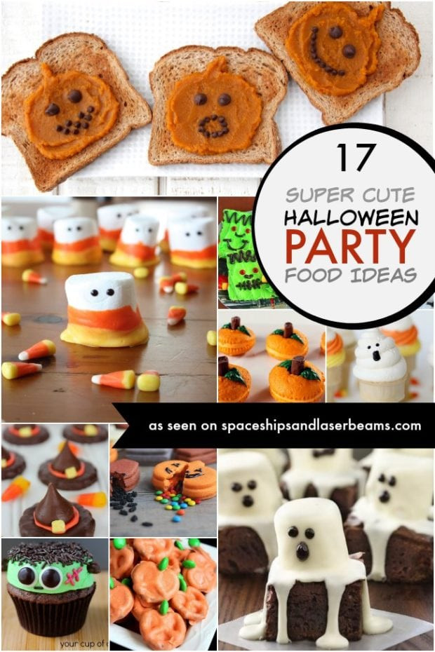 Children'S Halloween Party Food Ideas  Mickey Mouse Witches Hat Spaceships and Laser Beams