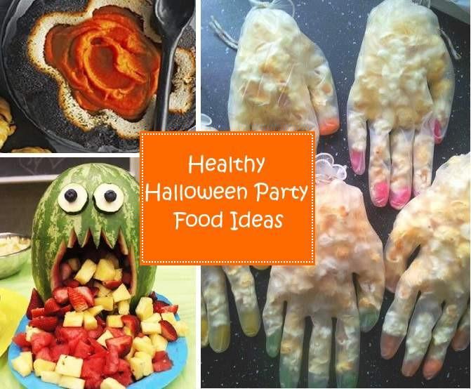 Children'S Halloween Party Food Ideas  Healthy Halloween Party Food Ideas