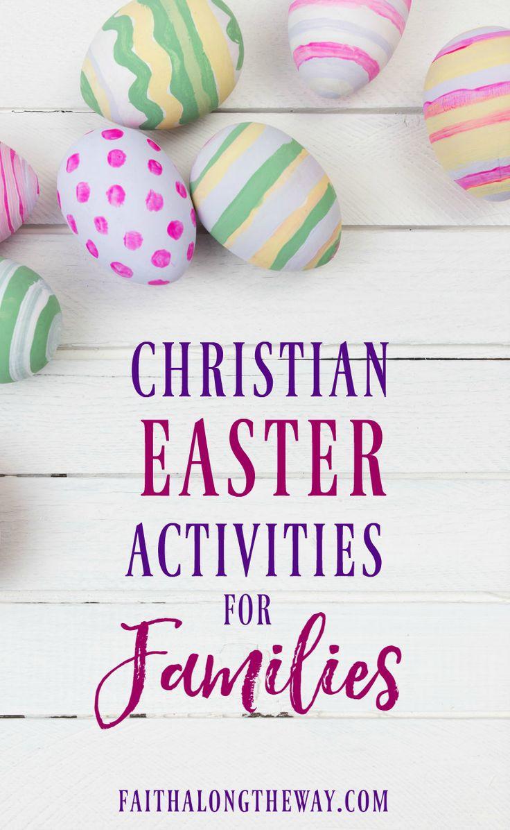 Christian Easter Party Ideas  Best 25 Christian families ideas on Pinterest