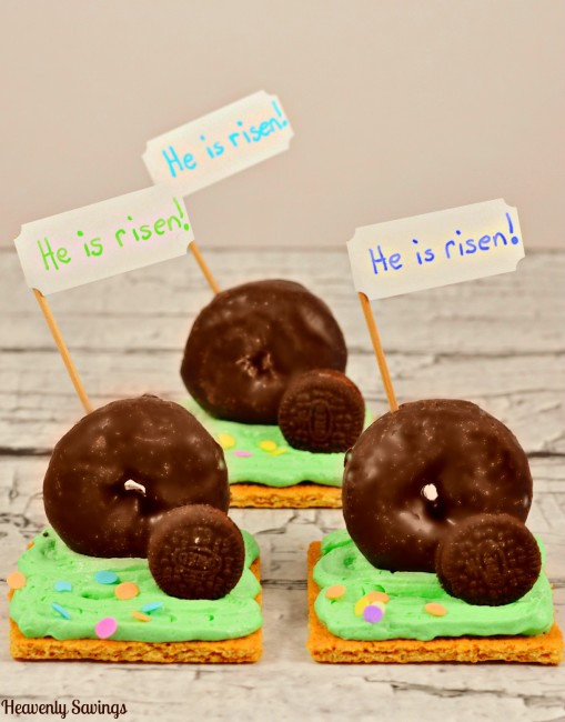 Christian Easter Party Ideas  He Is Risen Easter Treats