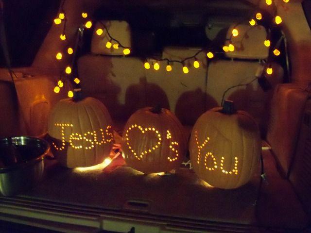 Christian Halloween Party Ideas  christian trunk or treat ideas Google Search