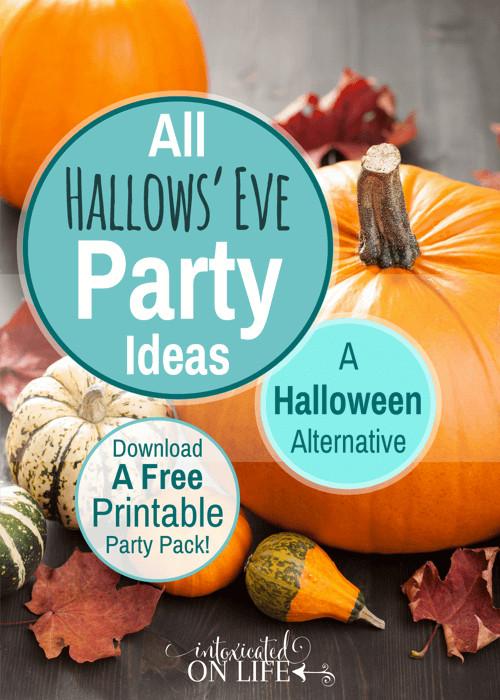 Christian Halloween Party Ideas  All Hallows Eve Party Ideas A Halloween Alternative