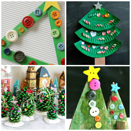 Christmas Art Ideas  Creative Christmas Tree Crafts And Activities For Kids I