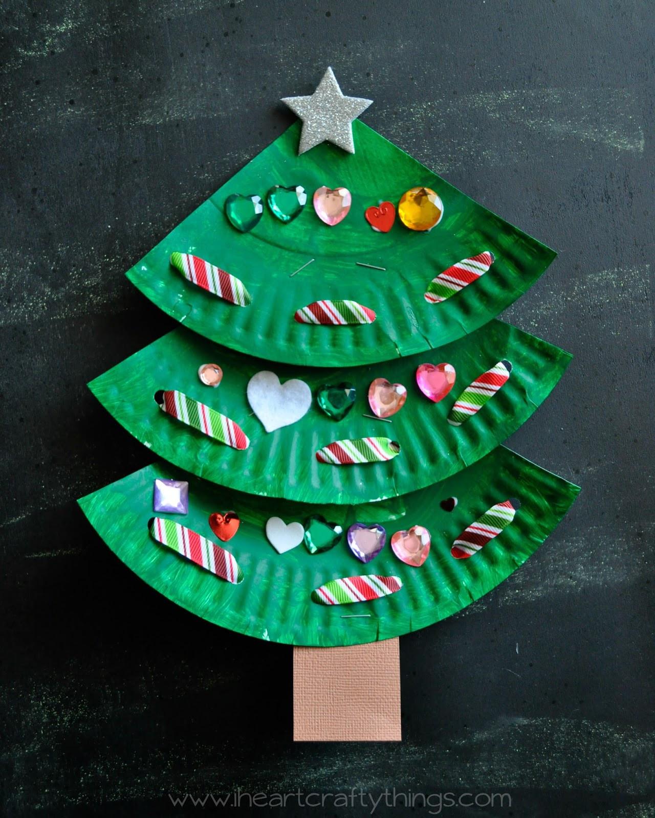 Christmas Art Ideas  25 Terrific Christmas Tree Crafts