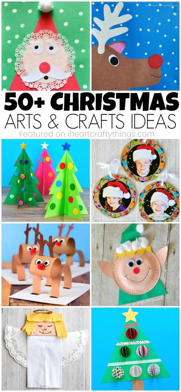 Christmas Art Ideas  50 Christmas Arts and Crafts Ideas