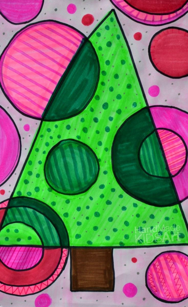 Christmas Art Ideas  A STEAM Christmas Art Projects for Kids