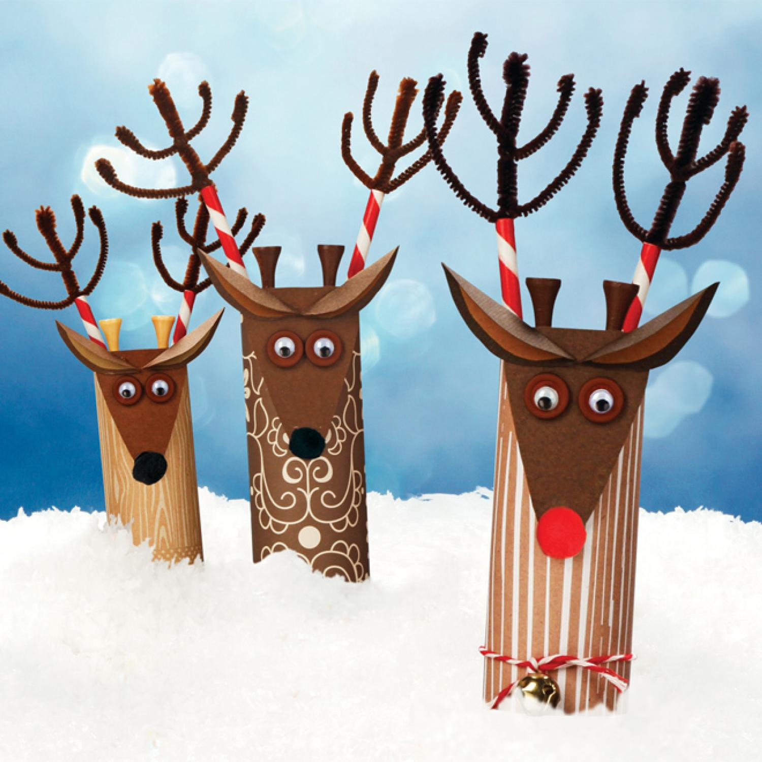 Christmas Art Ideas  Easy Christmas Crafts and Activities for Kids