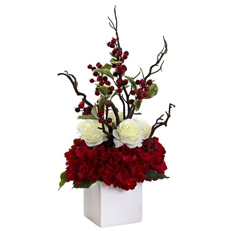 Christmas Artificial Flower Arrangements  25 unique Christmas floral arrangements ideas on