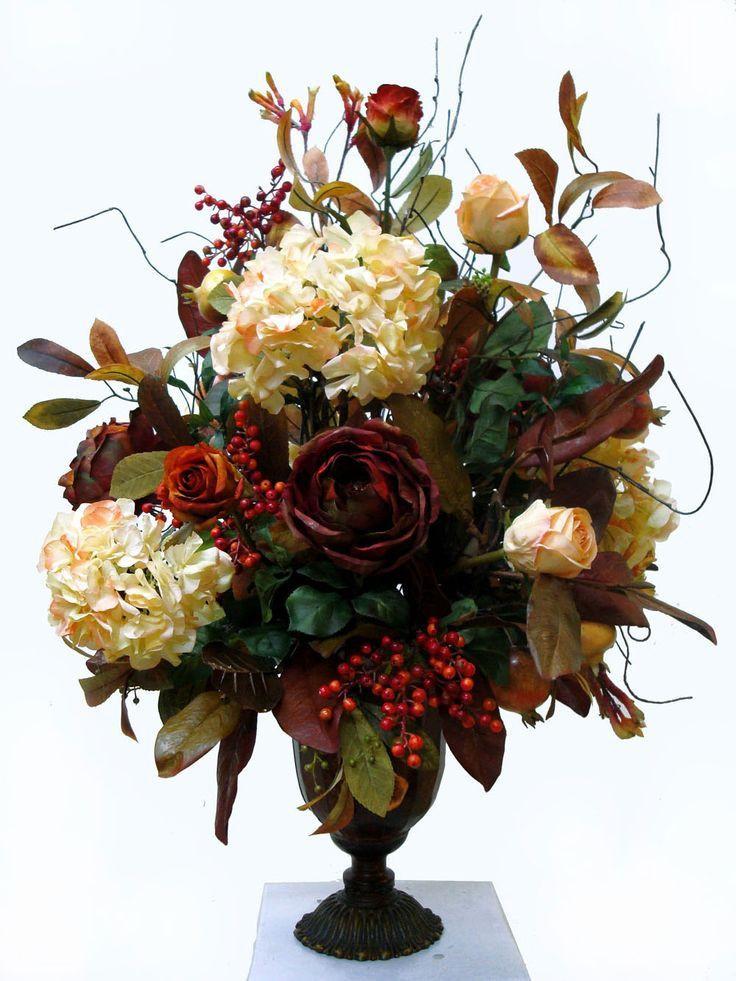 Christmas Artificial Flower Arrangements  25 unique Silk floral arrangements ideas on Pinterest