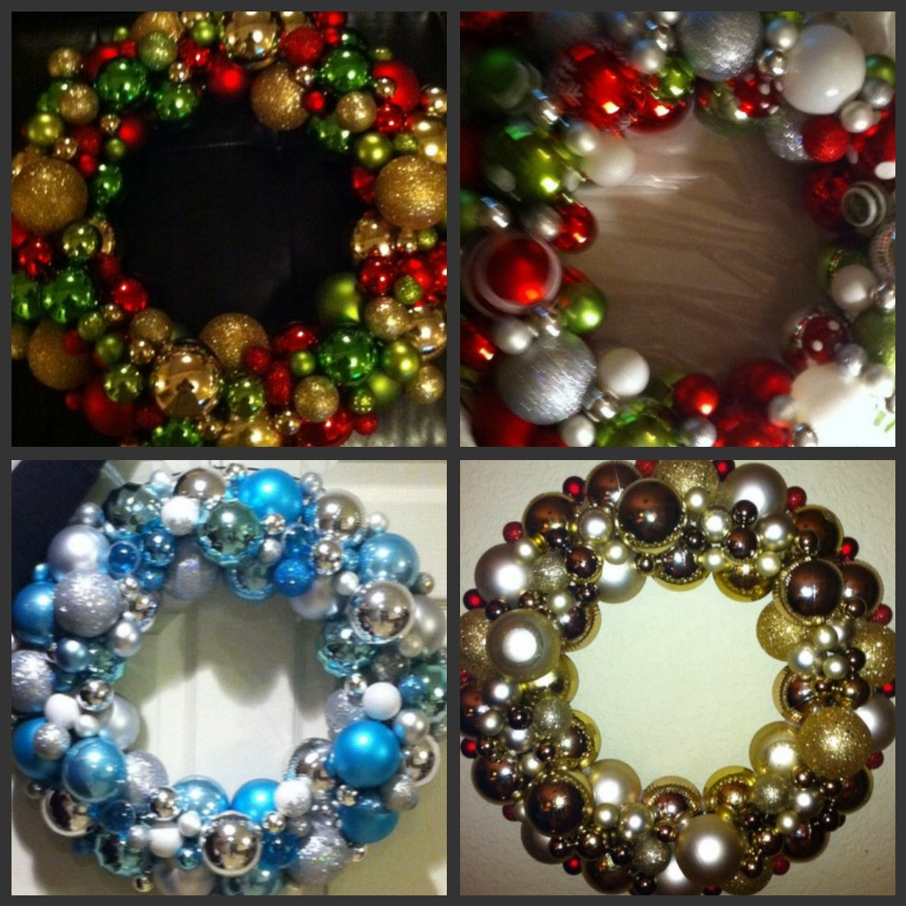 "Christmas Ball Wreath DIY  Gratefully Gorjus ""Ballin"" DIY Ornament Ball Wreath"