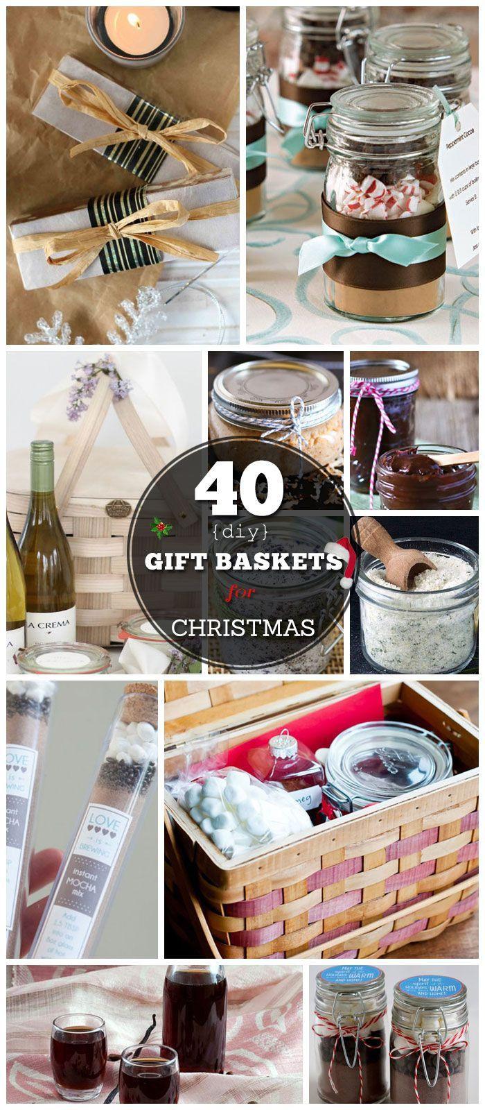 Christmas Basket DIY  40 DIY Gift Basket Ideas for Christmas