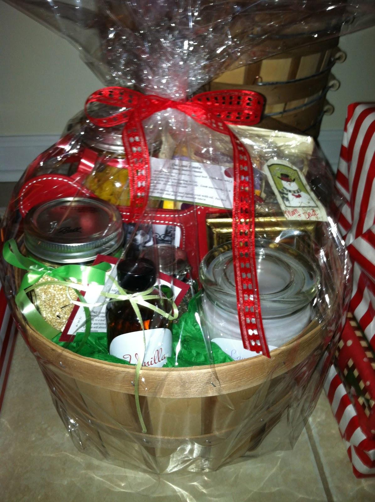 Christmas Basket DIY  melicipes Healthy & Homemade Gift Baskets